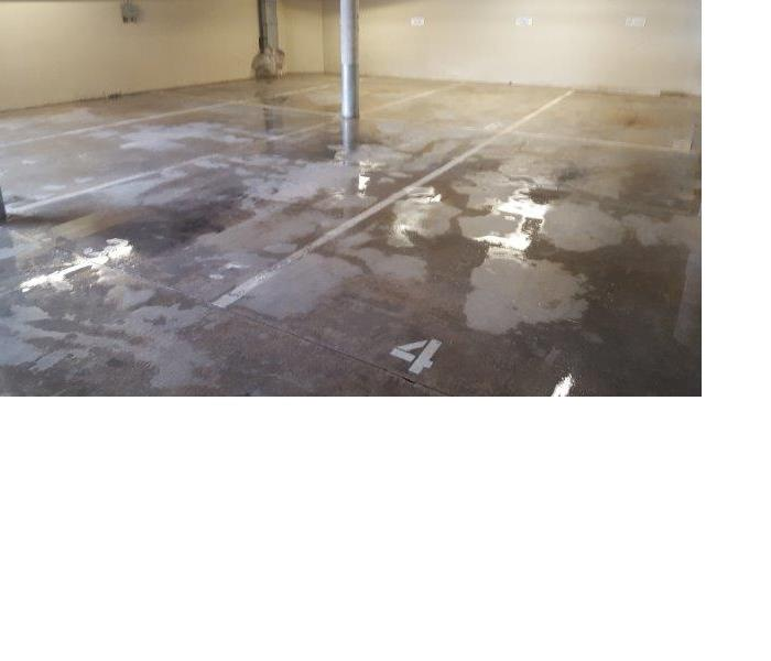 Flooded Garage After