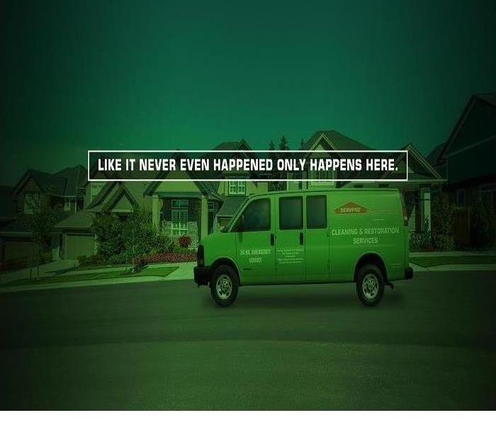 Why SERVPRO SERVPRO Frachise Professionals understand that no damage is small when it comes to your home